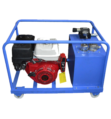 Key Start Petrol Driven Engine