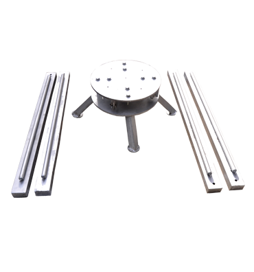 Aluminium Collapsible Horizontal Decoiler